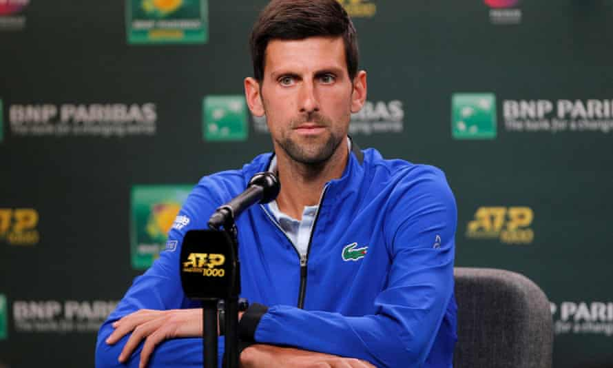 Novak Djokovic never hit it off with ATP chairman Chris Kermode