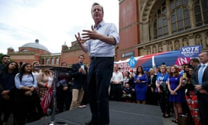 David Cameron speaks in Birmingham.