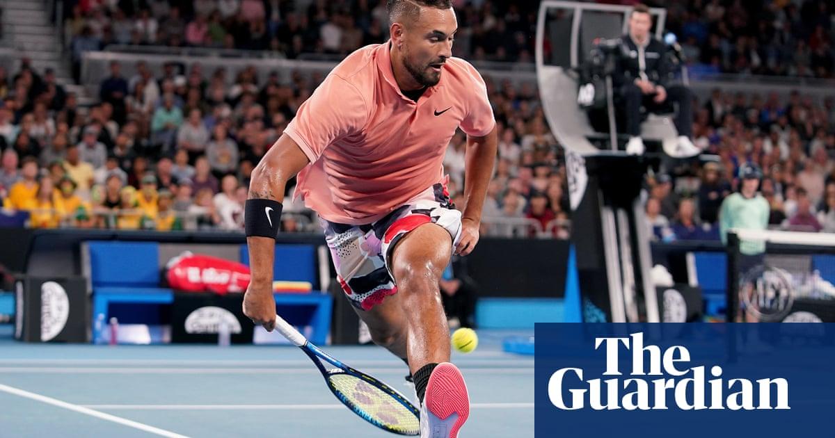Nick Kyrgios' brilliance lights up Australian Open despite power cut