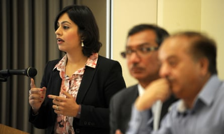 Sara Khan believes it is important to get the message across to grass-root communities