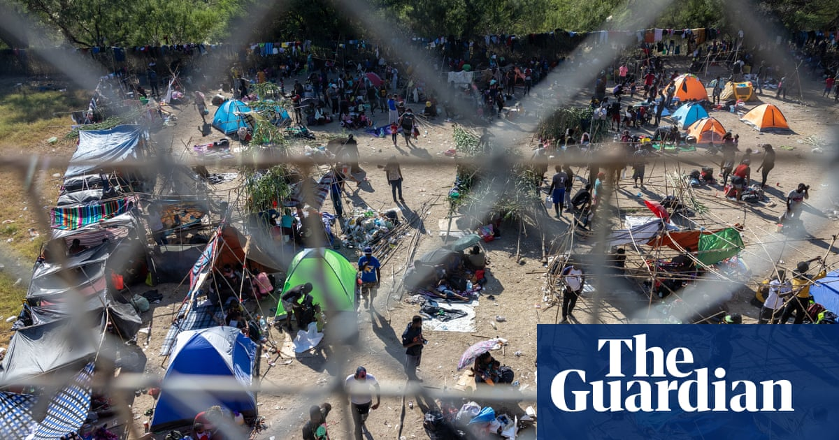 How thousands of Haitian migrants ended up at the Texas border
