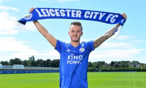 James Maddison is unveiled at Leicester City's training ground after completing his move from Norwich.