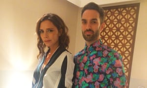 Victoria Beckham with Joe Stone in the approved shot.