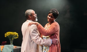 Wil Johnson and Sarah Niles in the vibrant Leave Taking at the Bush.