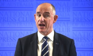 Stuart Robert speaks at the National Press Club