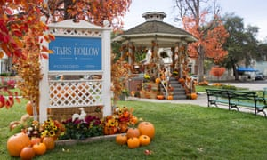 Stars Hollow, the fictional Connecticut town that is the setting for Gilmore Girls.