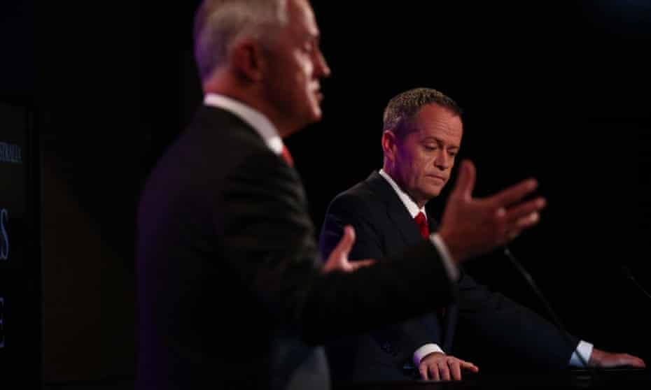 Malcolm Turnbull Bill Shorten
