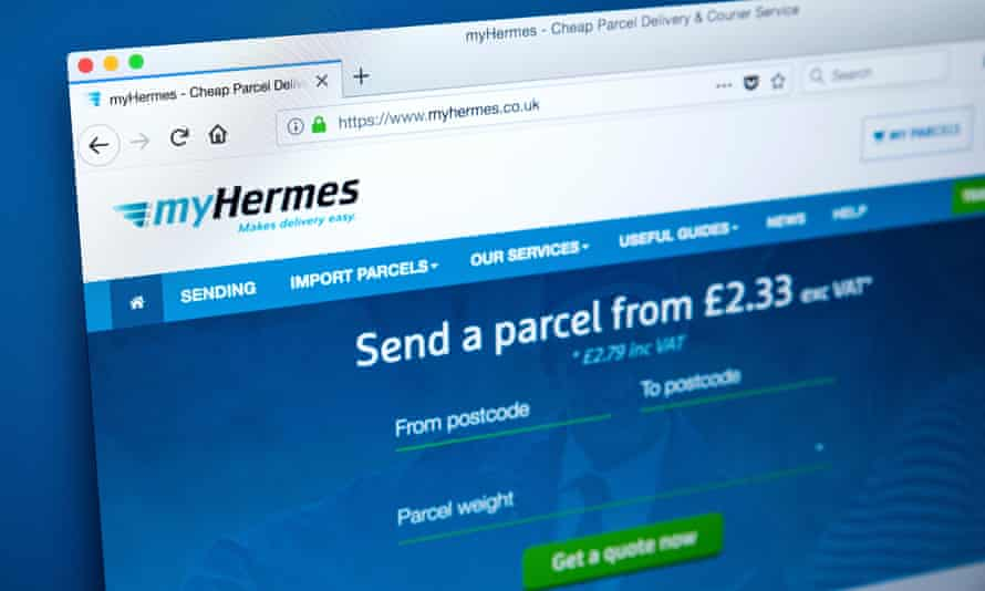Hermes offers cheap rates for parcel deliveries … but study the list of exclusions carefully.