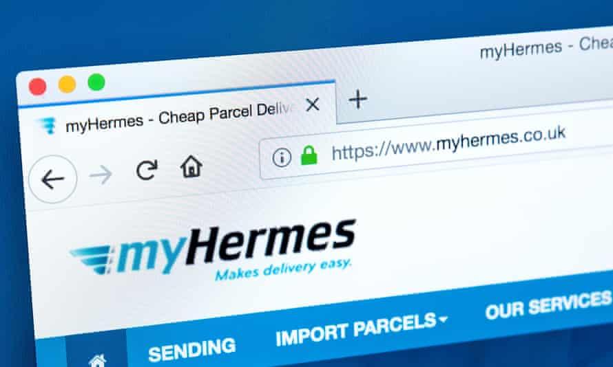 The Hermes website