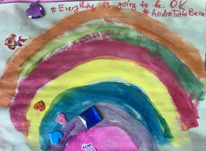 Rainbow by Lizzy (age 4), Kew Gardens, Queens, photo by Leeka Murphy
