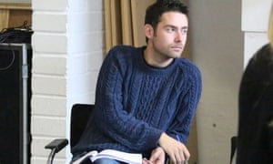 'I love the failure of theatre, the fact it can never be perfect' … James Fritz.