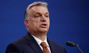Hungary's prime minister, Viktor Orbán, talks of 'Christian civilisation'.