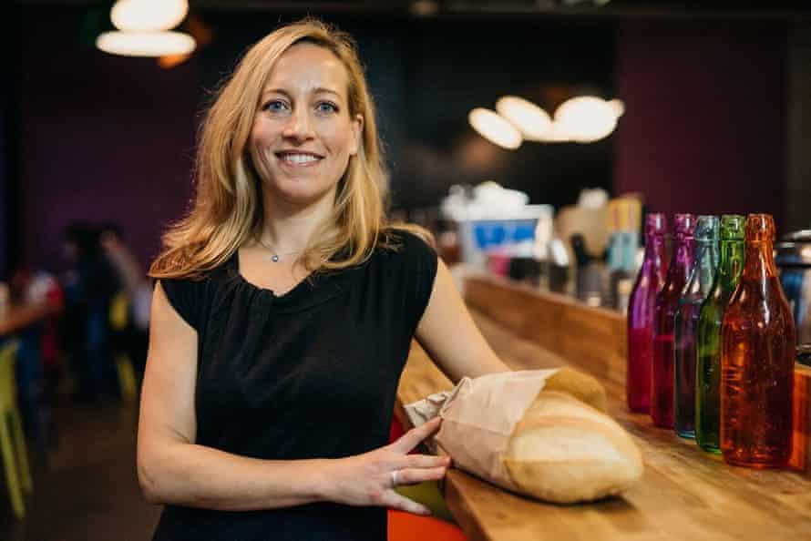 Saasha Celestial-One, co-founder of food sharing app, Olio.