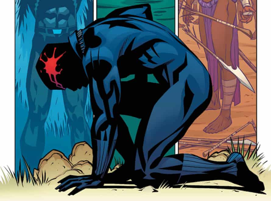 A preview of Ta-Nehisi Coates' Black Panther comic for Marvel