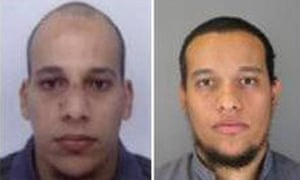 Cherif Kouachi and his brother Said, who attacked at the satirical French magazine Charlie Hebdo.