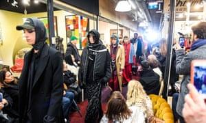 Vetements' autumn/winter 2018 show at Saint-Ouen's flea market