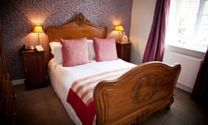 Sleep it off: comfort and style in one of the rooms at the Queens Arms