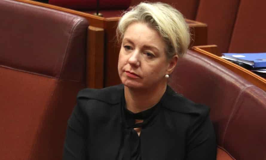Former sports minister Bridget McKenzie