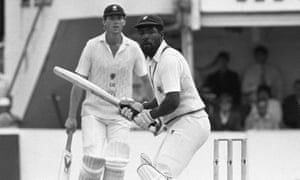 The legendary West Indian batsman Viv Richards is one of many world-class cricketers to have turned out at club level in England.