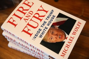 Michael Wolff's book on Trump administration, Fire and Fury