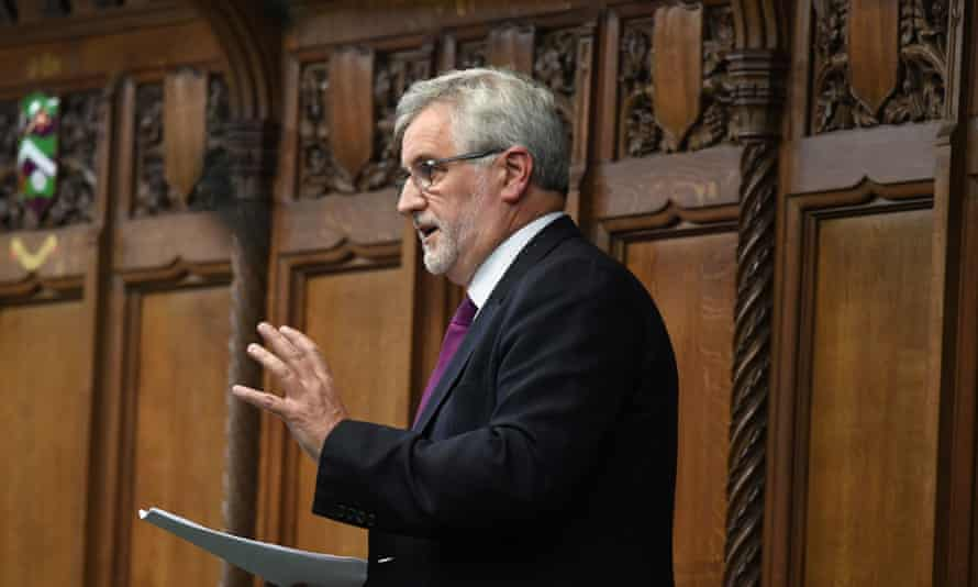 Labour MP Clive Efford said the police, crime, sentencing and courts bill was part of 'a Tory-led coup without guns'.