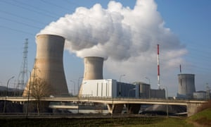 Nuclear power plant in Tihange, Belgium.