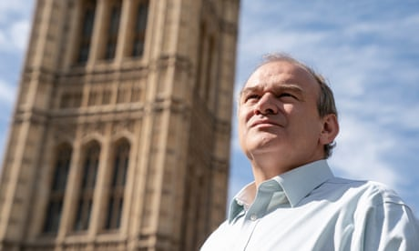 Ed Davey: my experience as a carer can help rebuild Britain after coronavirus
