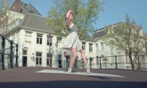 Serene … Dutch National Ballet's Gently Quiet.