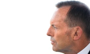 Tony Abbott in Townsville on Saturday.