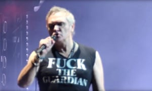 Morrissey live at the Hollywood Bowl 2019