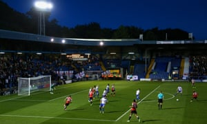 Bury, who mortgaged their Gigg Lane ground last October, are in the League Two promotion hunt despite struggling to pay the players' wages.