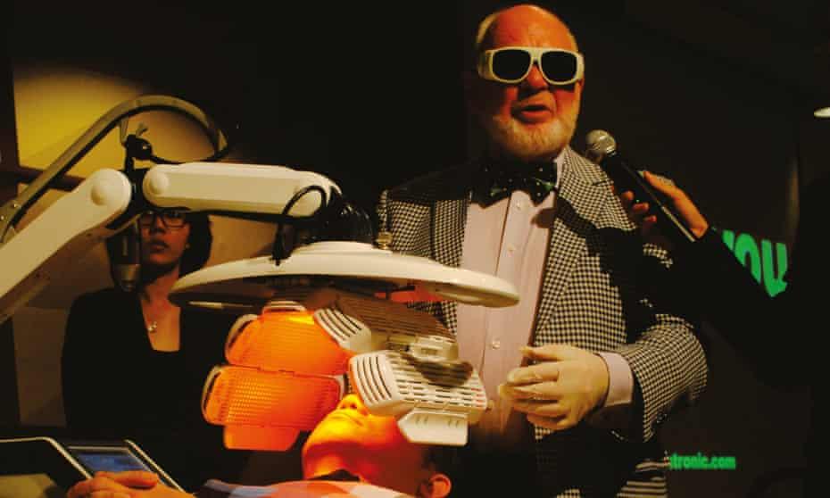 Low light 'godfather': Dr Glen Calderhead.