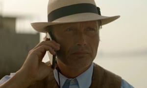 Mads Mikkelsen in the new Ford Edge advert