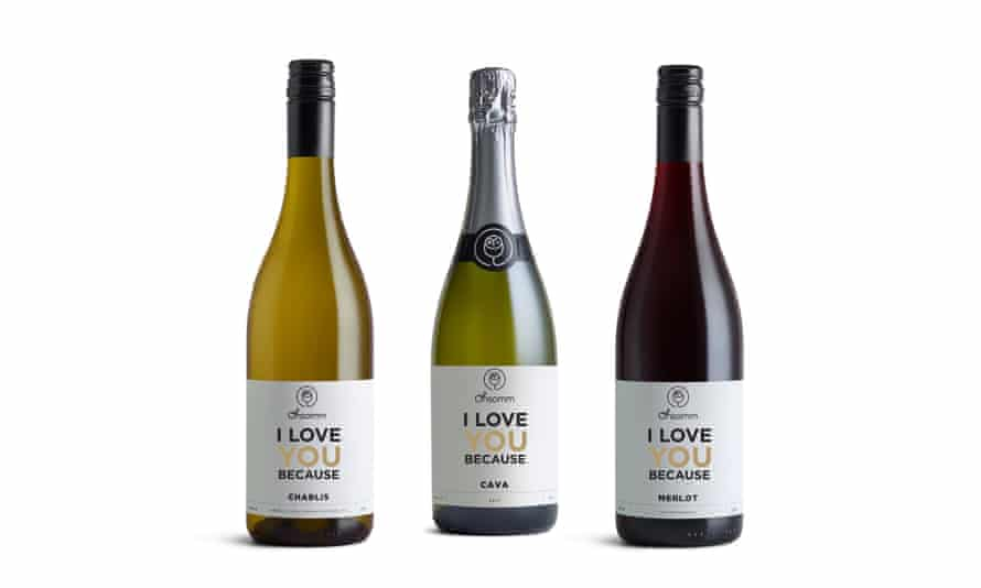 Have the label personalised, and then share the bottle ...Personalised wine, from £9ohsomm.com