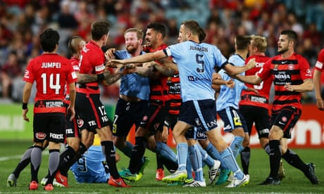 A-League: Sydney FC v Western Sydney Wanderers – live!