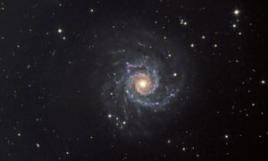 a spiral galaxy in the Pisces constellation.