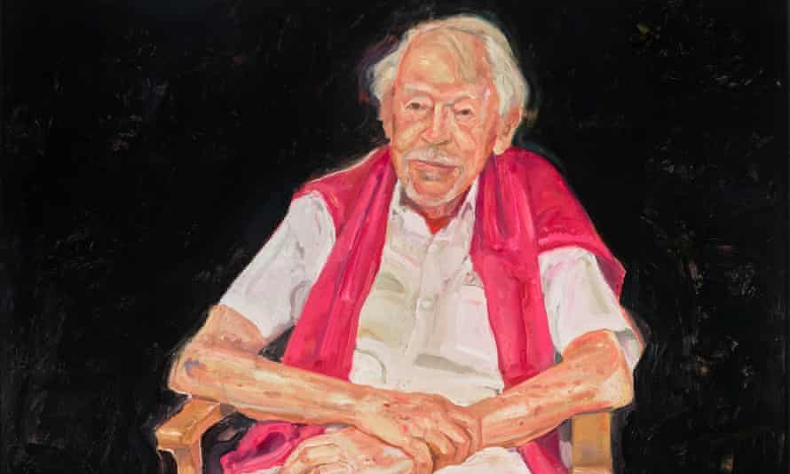 Peter Wegner has won the 2021 Archibald prize for his portrait of Guy Warren at 100