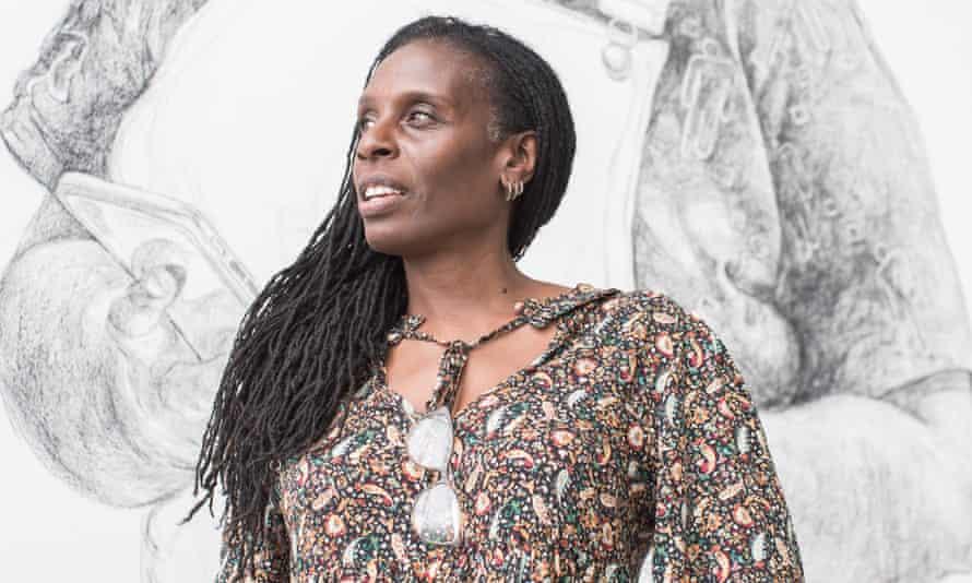 Artist Barbara Walker.
