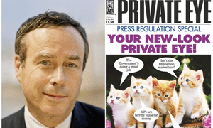 Opposed to section 40: Lionel Barber and Private Eye.