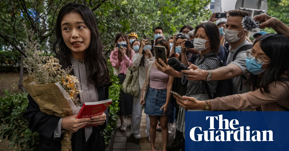 'Instead I am the criminal': China's MeToo figure speaks out after case fails