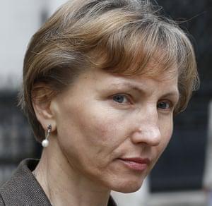 Alexander Litvinenko's widow, Marina.
