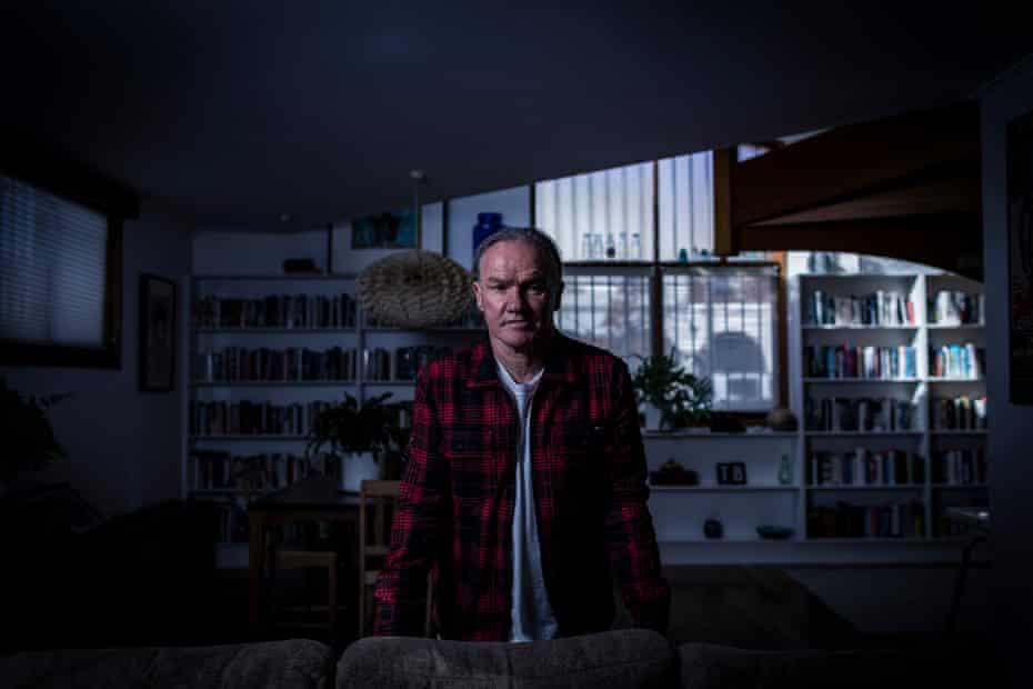 Tony Birch at his home