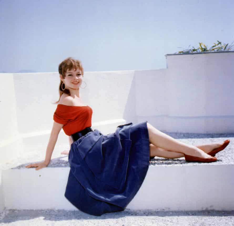 Ballet pumps ... as worn by Brigitte Bardot, 1953.