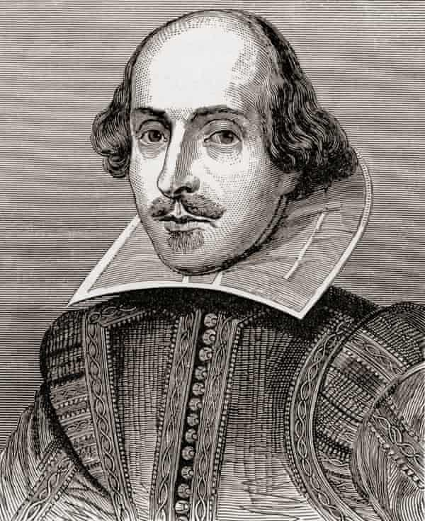 Not above a gag or two ... William Shakespeare. Picture: Alamy
