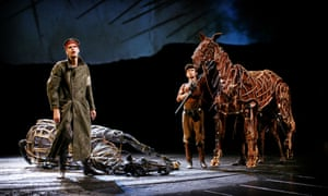War Horse at the National Theatre, London.