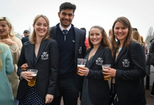 Oxford University supporters