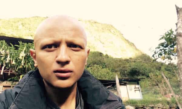 Arnab Chanda on his way to Machu Picchu