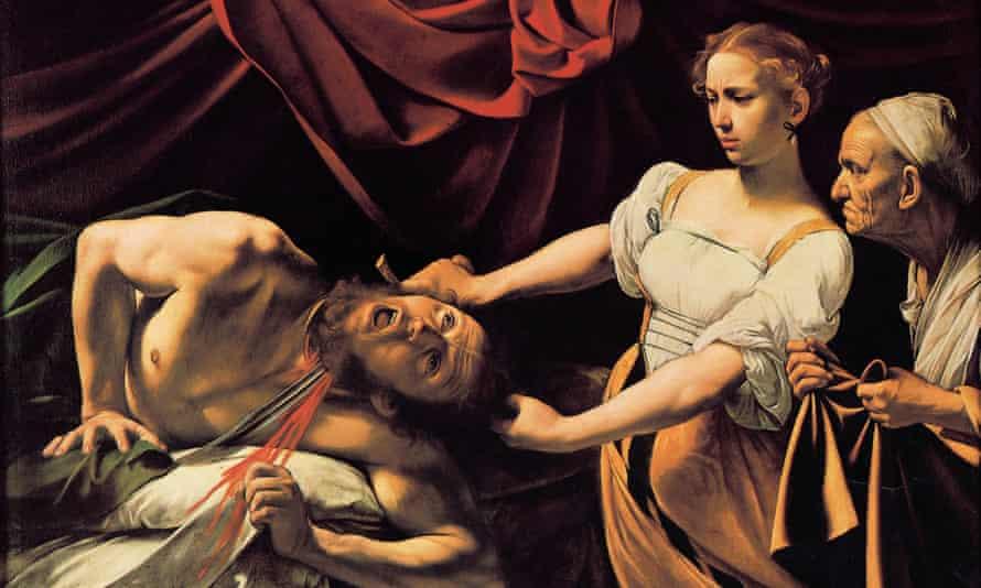 Caravaggio's Judith Beheading Holofernes (1599)