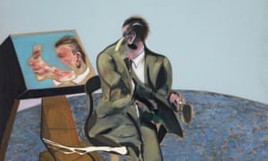 Detail from Portrait of George Dyer in a Mirror, 1968