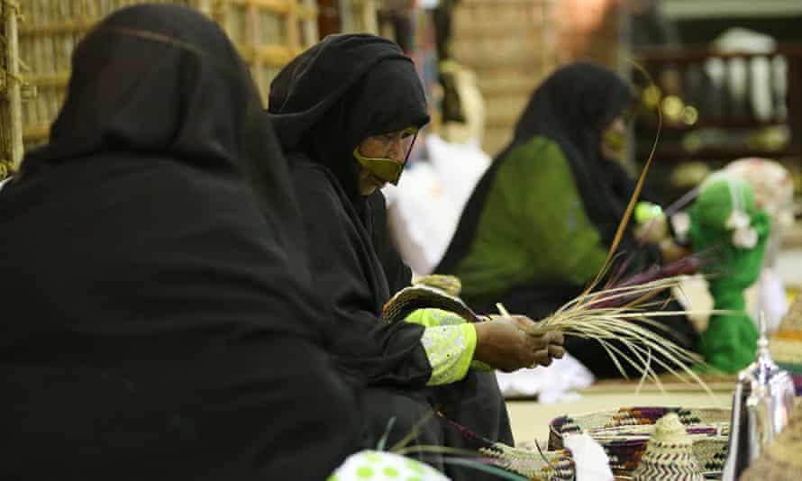 female worker in the UAE